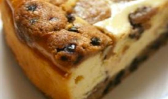 Chocolate-Chip Cookie Dough Cheesecake Recipe