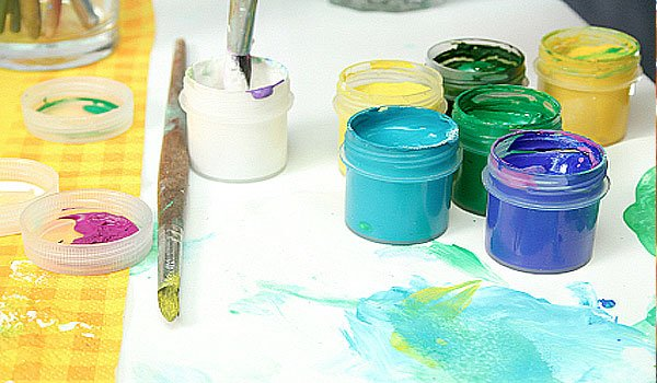 painting ideas for kids. Kids love to paint so have