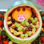 Make a Baby Shower Fruit Basket