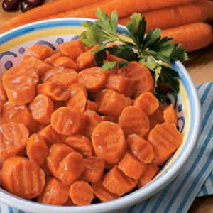 Candied Carrot Coins