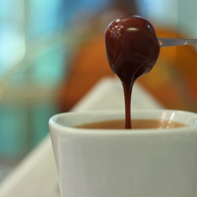 Homemade Chocolate Fondue Dipping Sauce
