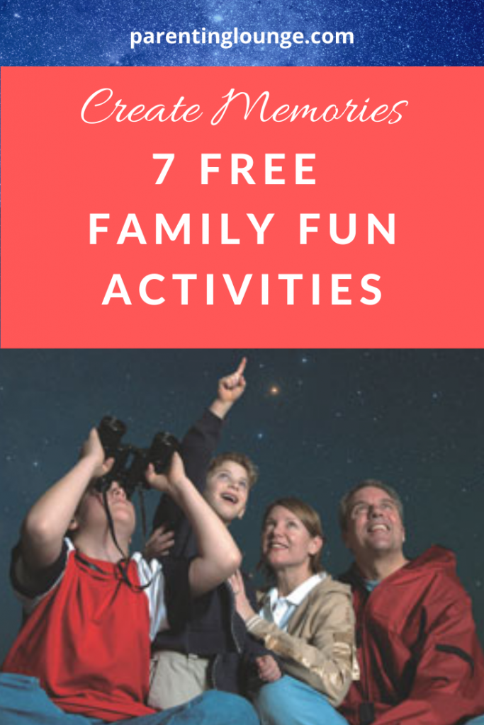 Make Memories - Free Family Fun Activities